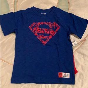 NWT boys Superman T-shirt with cape!